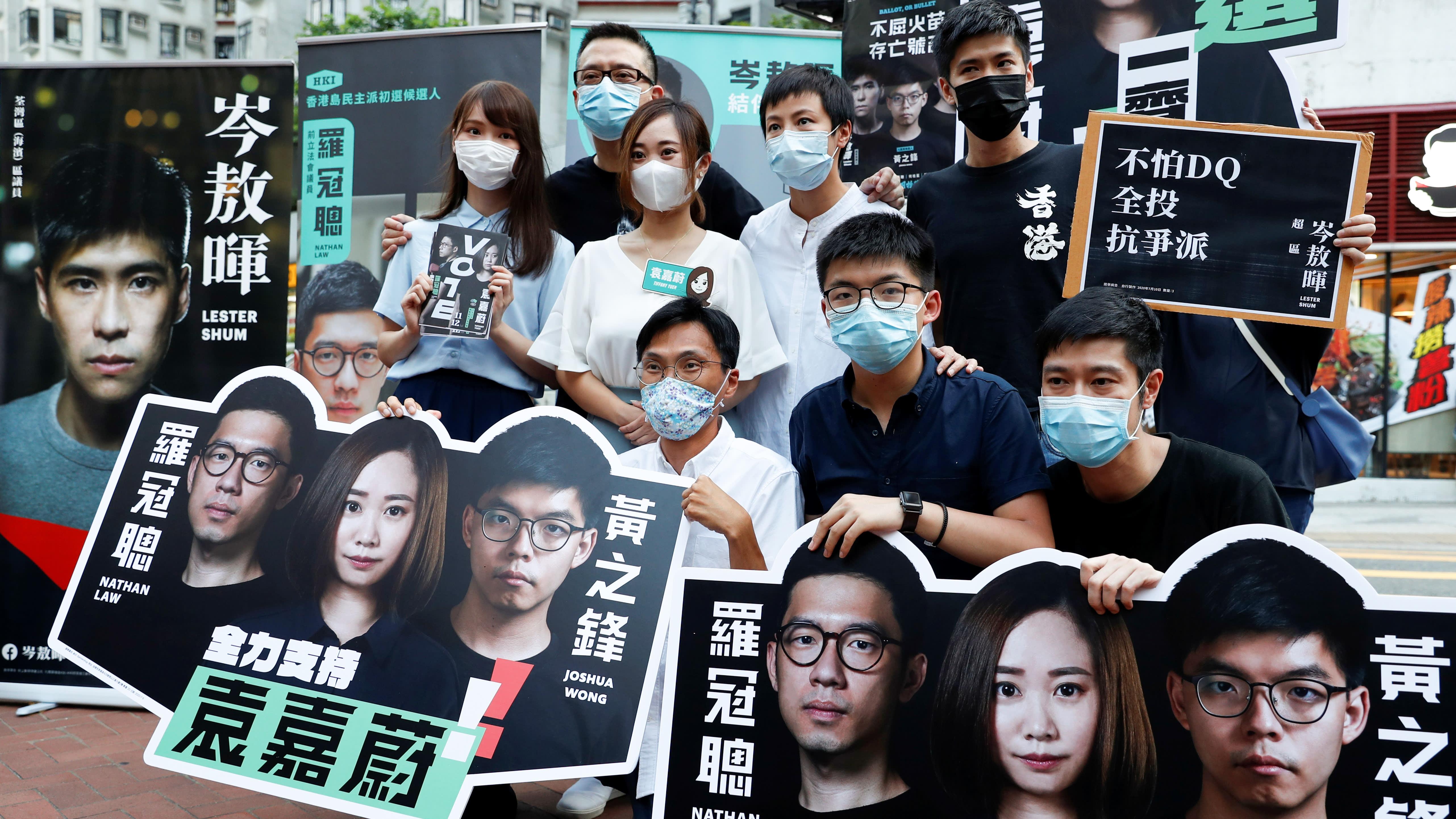 A maioria dos activistas pró-democracia de Hong Kong estão presos ou no exílio