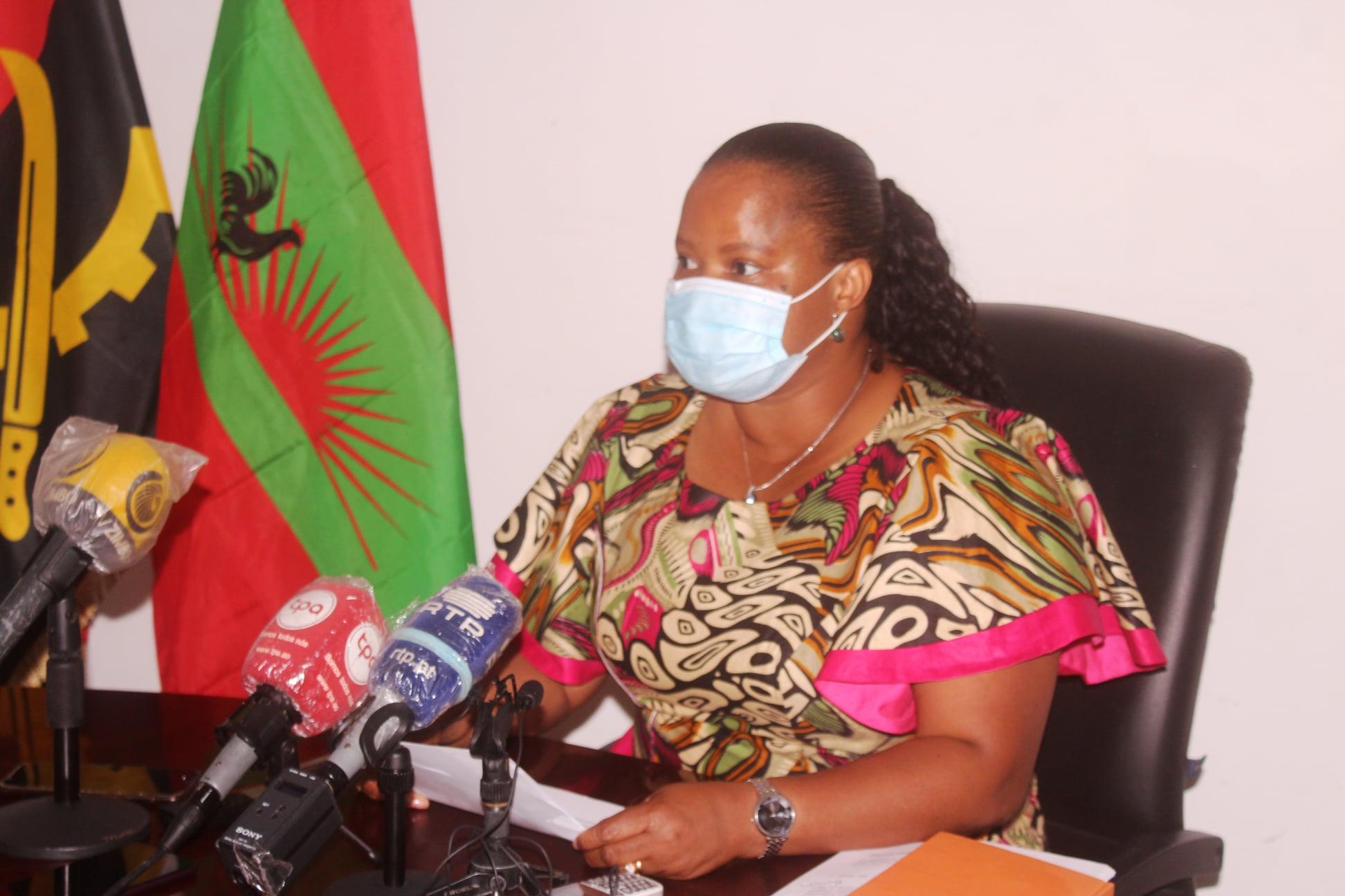 Albertina Navita Ngolo, secretária provincial da UNITA, no Huambo