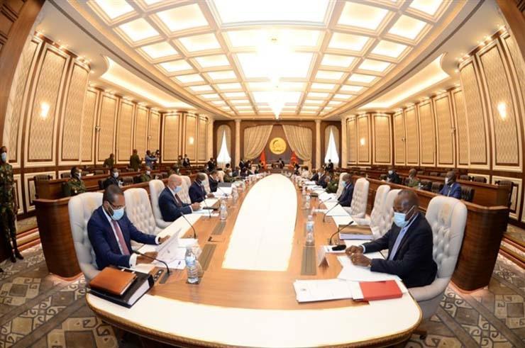 Presidente da República reúne Conselho de Segurança Nacional em Luanda