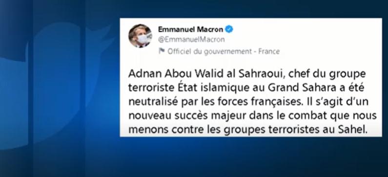 França confirma morte do líder de grupo Jihadista do Estado Islâmico no Grande Saara