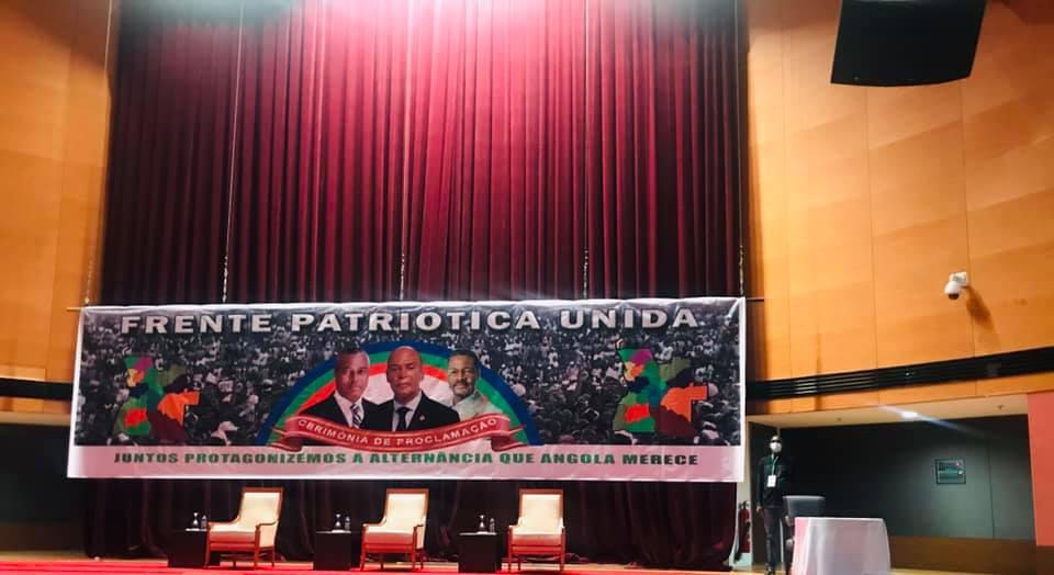 Frente Patriótica Unida formaliza o seu projecto e nomeia Adalberto Costa Júnior como Líder