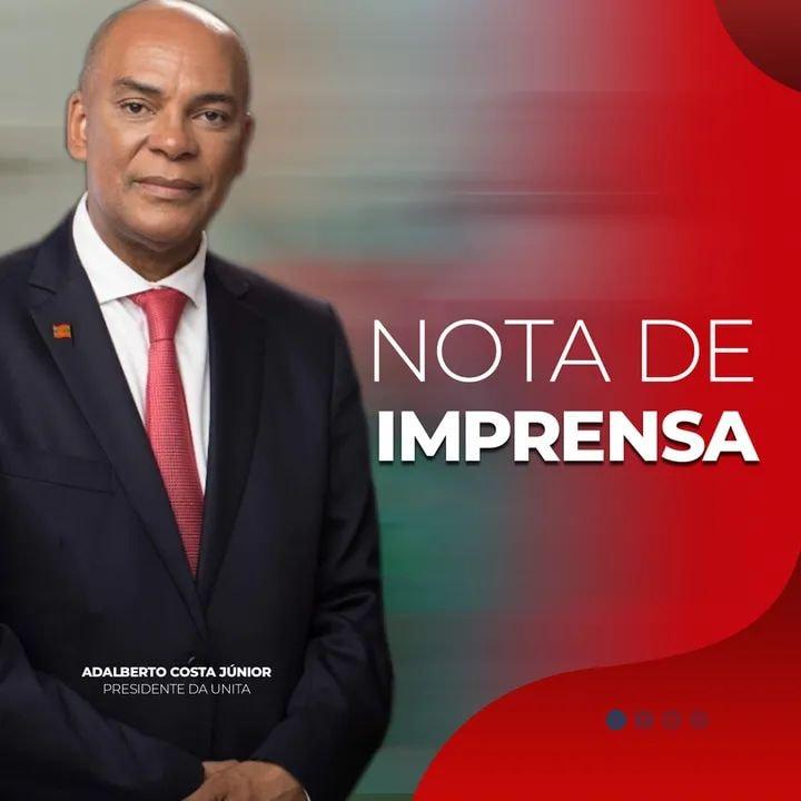 Comité Permanente da Comissão Política da UNITA esclarece notícias da destituição de Adalberto Costa Júnior
